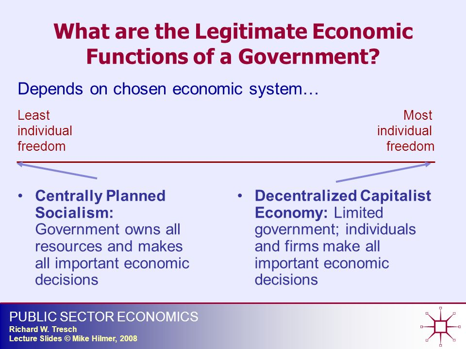 most controversial economic function of government Get an answer for 'which of the six basic economic functions of government is being performed when government makes insider trading illegal1  is the basic economic function of government.
