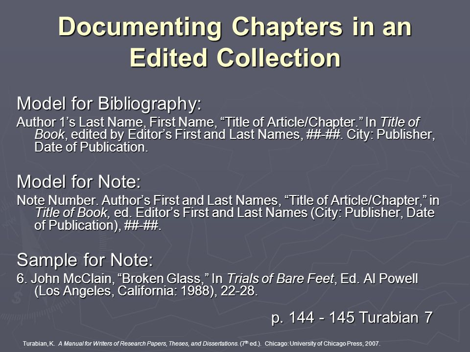 chapters of the dissertation Preparing a thesis or dissertation congratulations additional chapters you choose the chapter titles the following parts comprise the standard document.
