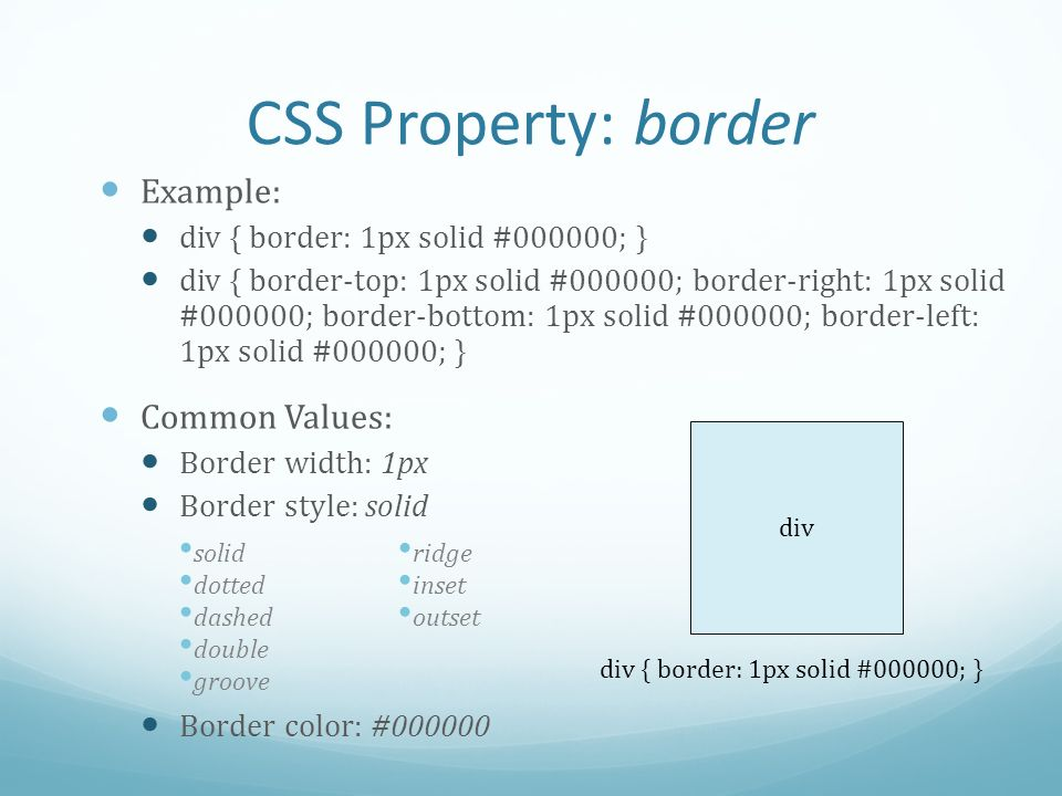 Css quiz 3 lecture code ppt video online download - Div position bottom ...