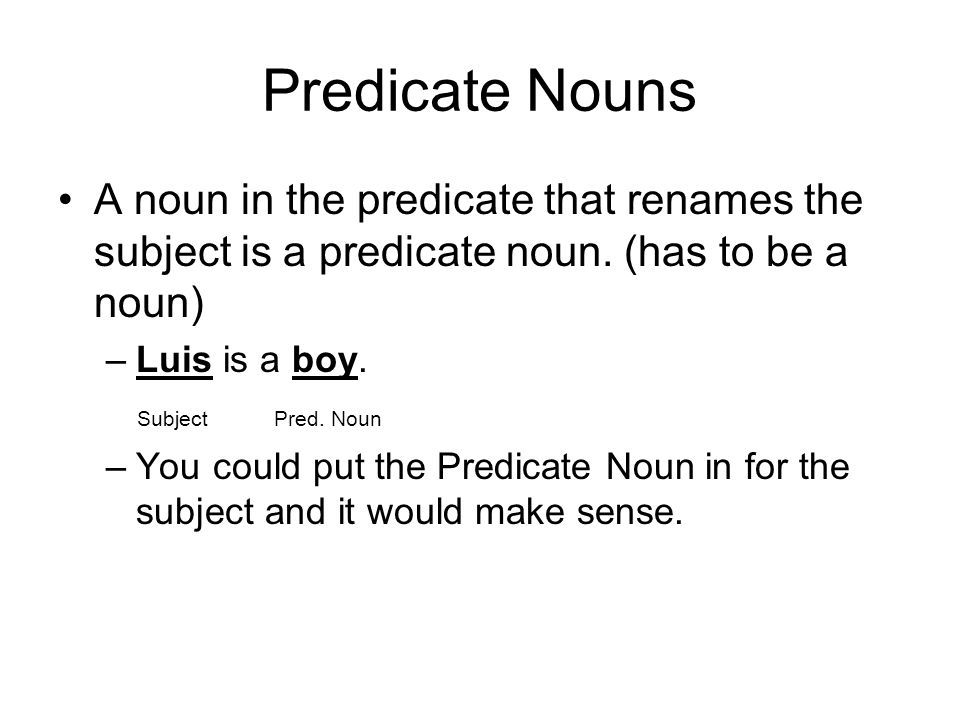Predicate Nominative Worksheet – Predicate Nominative Worksheet