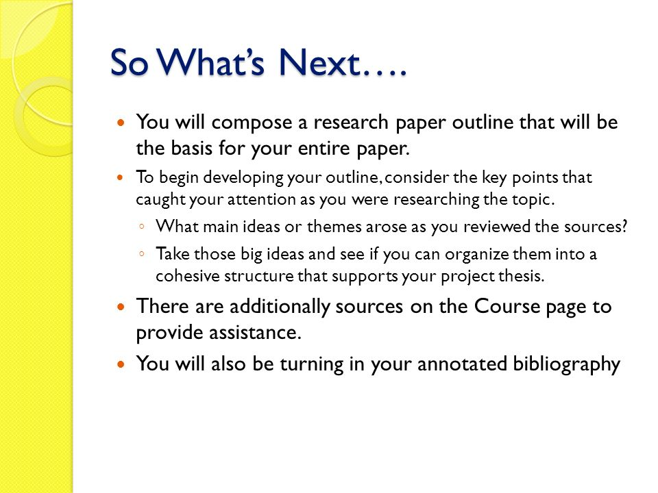 essay on maturity of a student WRITING AN ANNOTATED BIBLIOGRAPHY