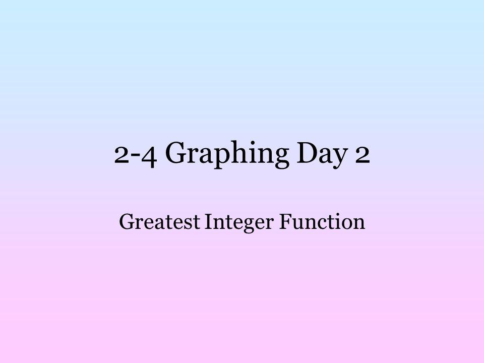 Greatest Integer Function ppt video online download – Greatest Integer Function Worksheet