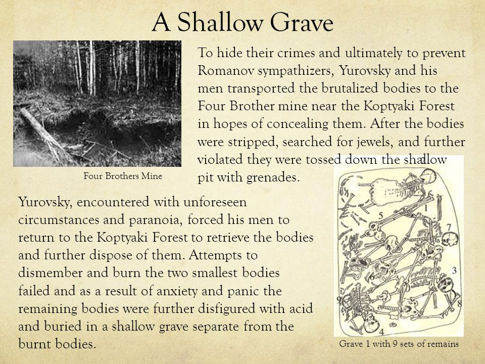 an introduction to the analysis of shallow grave Character analysis study help  she wants to see her mother's grave,  introduction to the 1990s newbery medal winners.