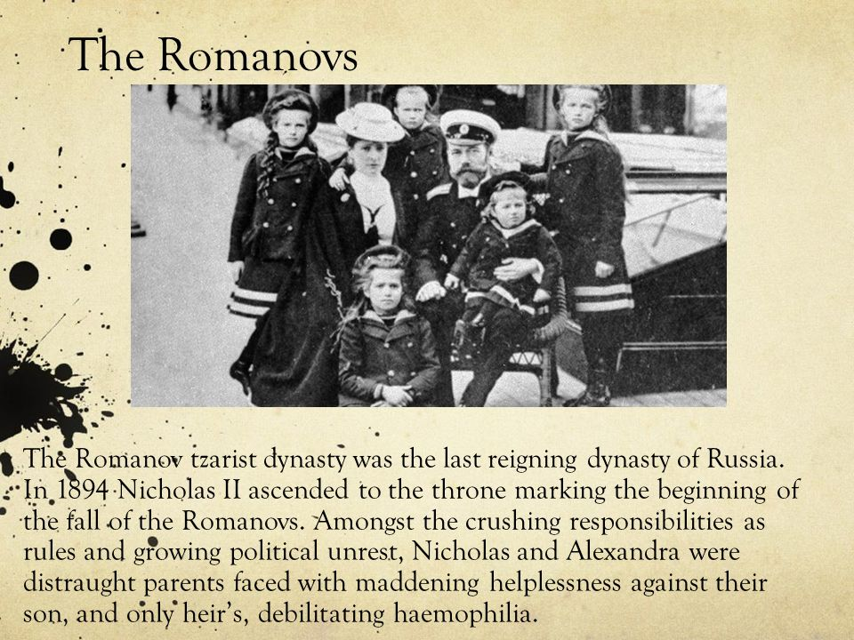 The decline and fall of the romanov dynasty essay