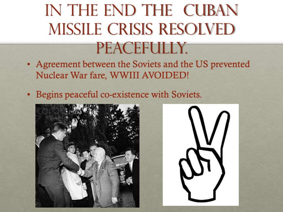 Image result for the end of the cuban missile crisis
