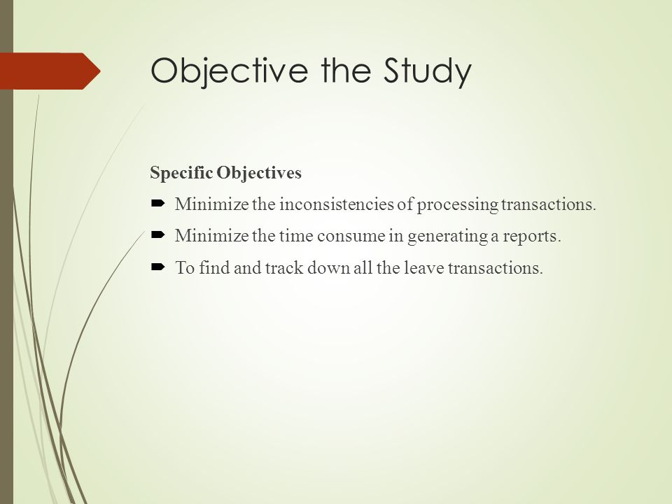 online grading system objectives of the study Be placed on grading work completed in study groups  as online learners the overall objective of mde  system for their group's case study.