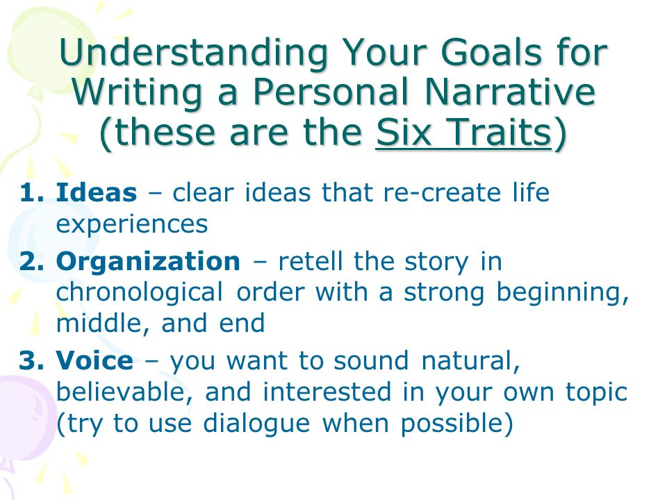 how to create a strong narrative voice