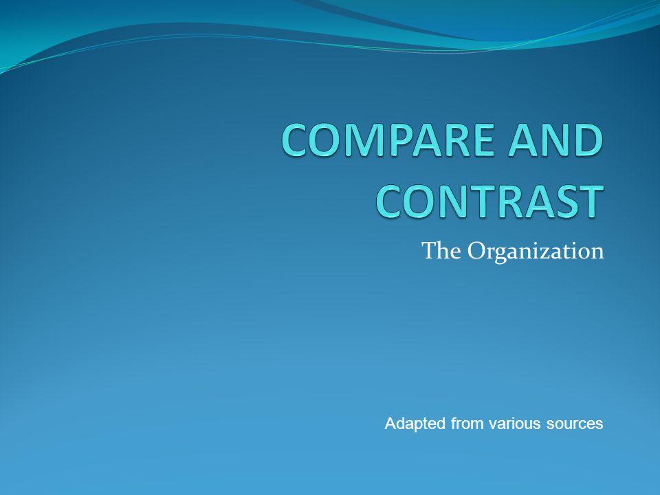 comparing places essay
