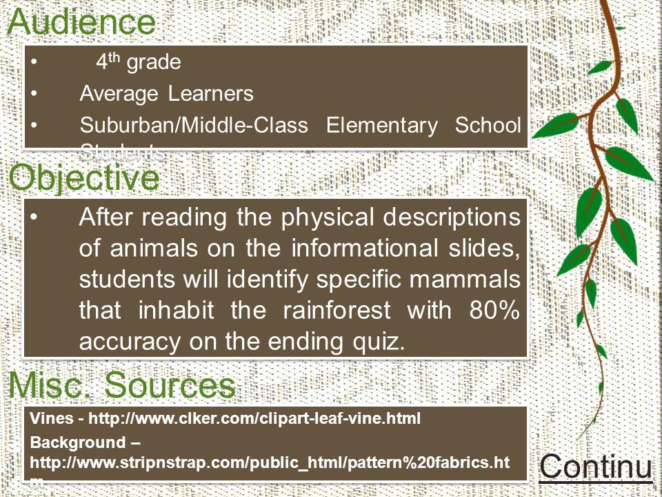 Mammals in the Rainforest - ppt download