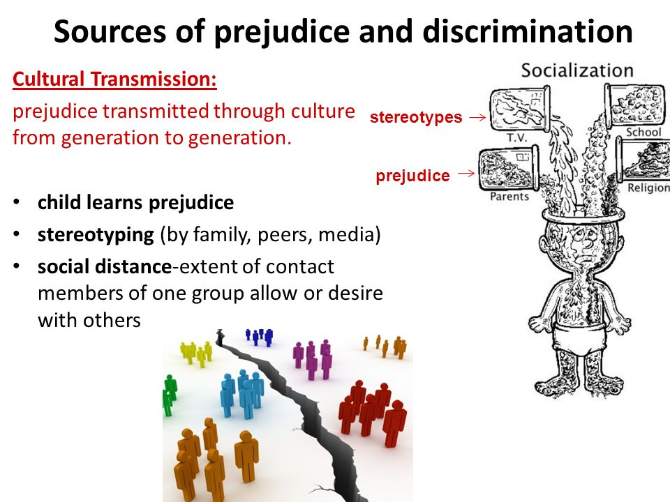 causes of prejudice and discrimination Get an answer for 'how do sociological perspectives explain the causes of prejudice and discrimination' and find homework help for other social sciences, sociology, racial discrimination.
