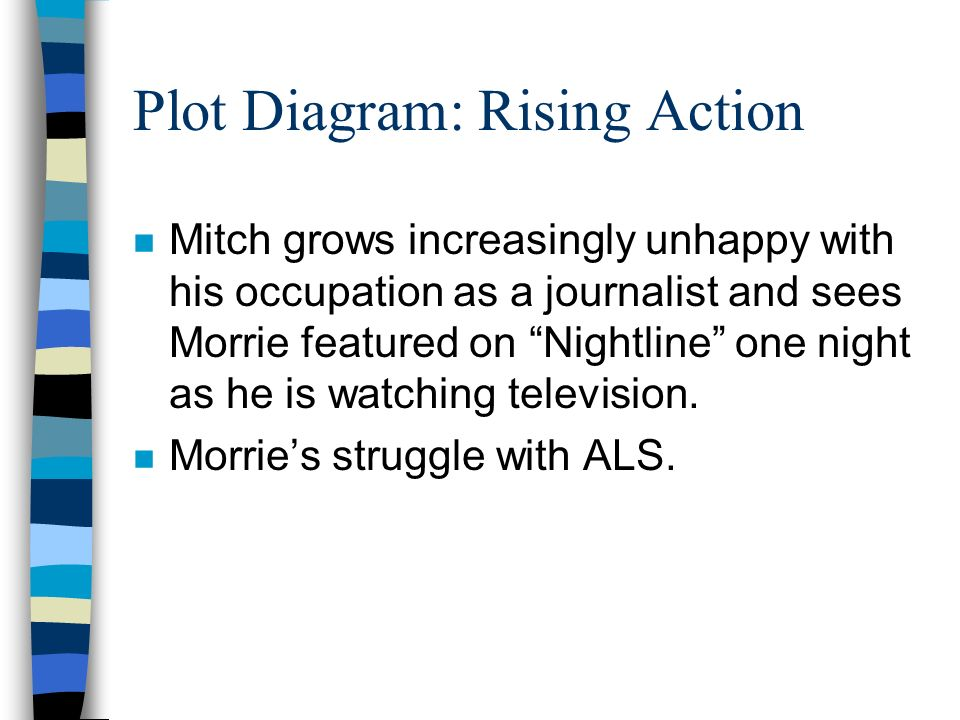 Tuesdays with Morrie Elements of a Story. - ppt download