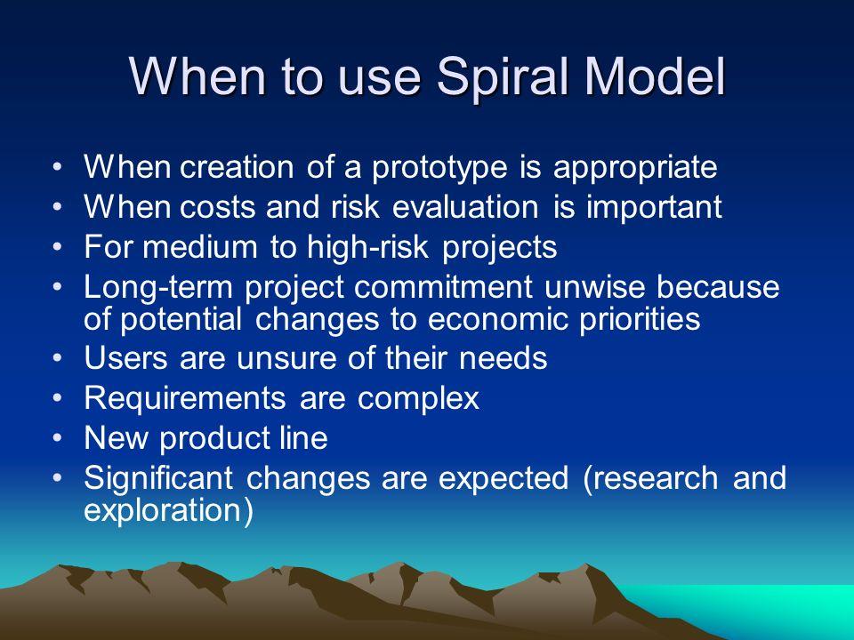 spiral software development model pdf