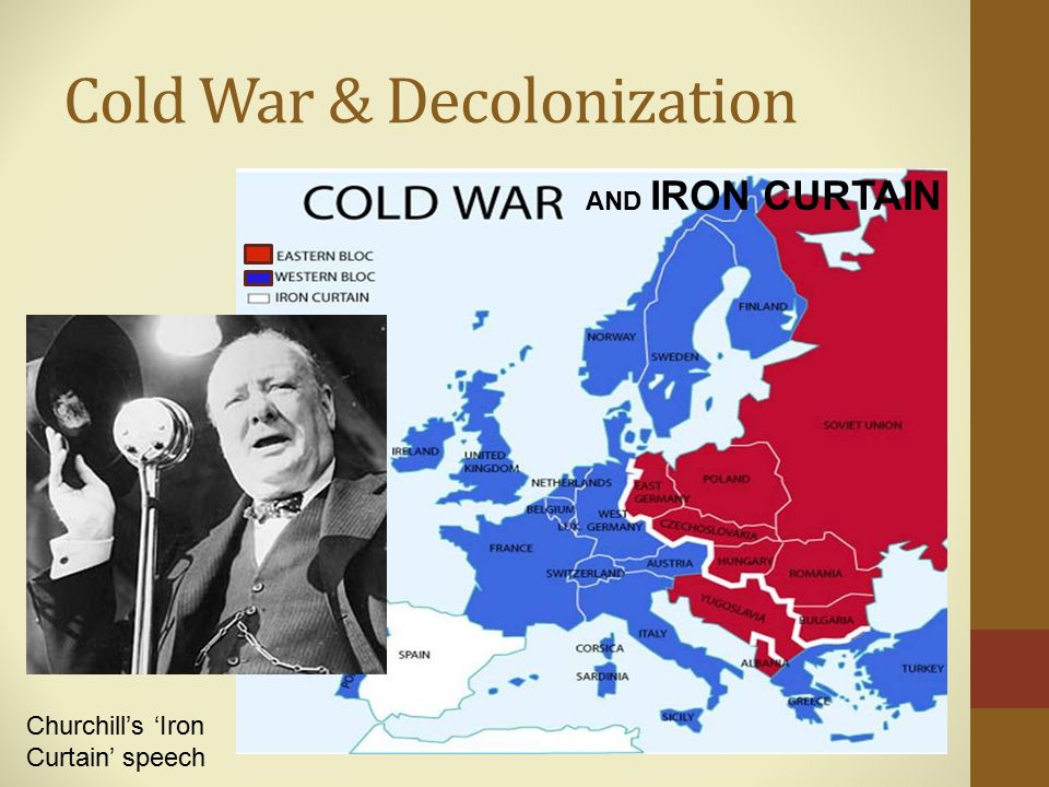 decolonization during the cold war Question breakdown / questions to ask 1 how was decolonization played out across the region 2 how did the cold war affect decolonization in.