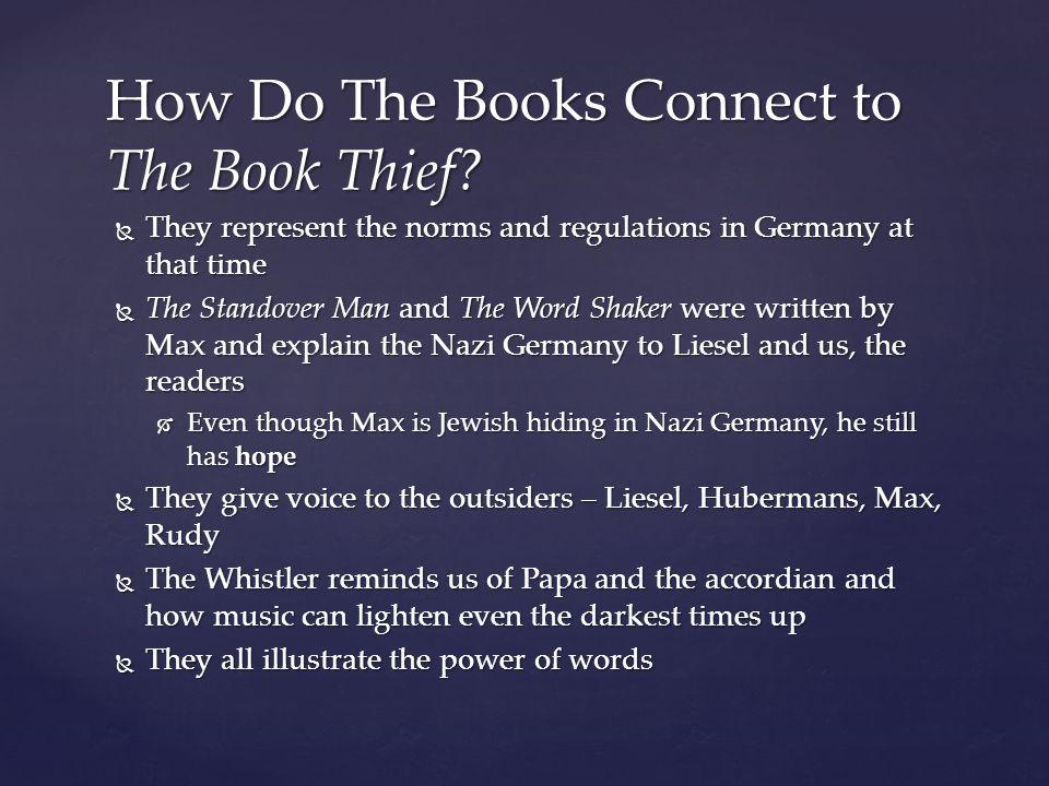 book thief essay on hope