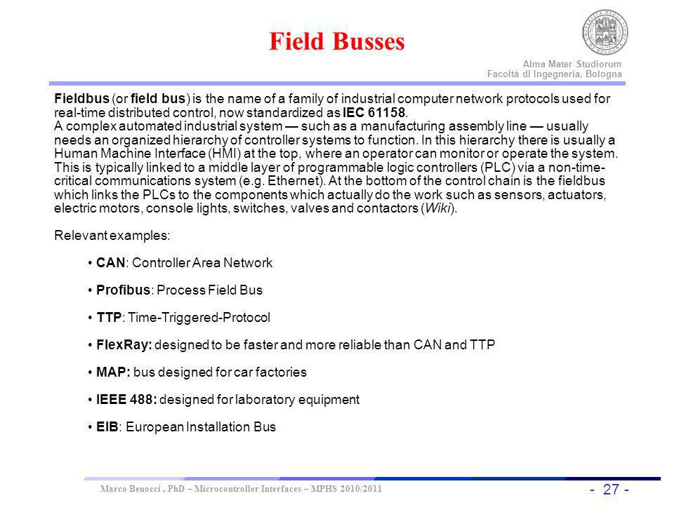 Field Busses