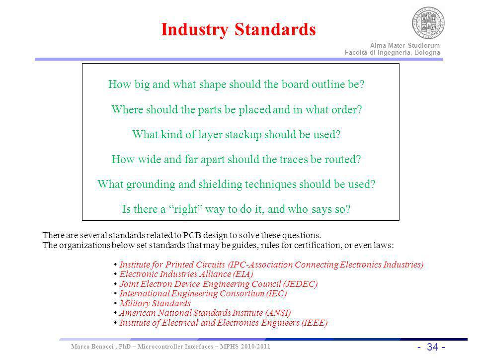 Industry Standards How big and what shape should the board outline be