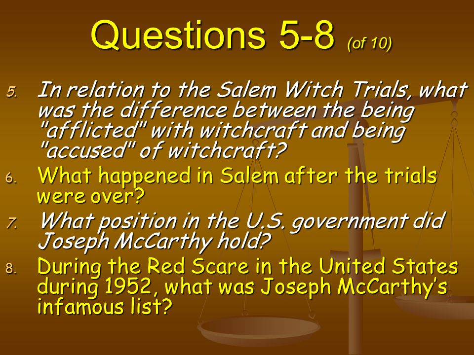 Were there similarities between the Salem witch trials and Nazi antisemitism?
