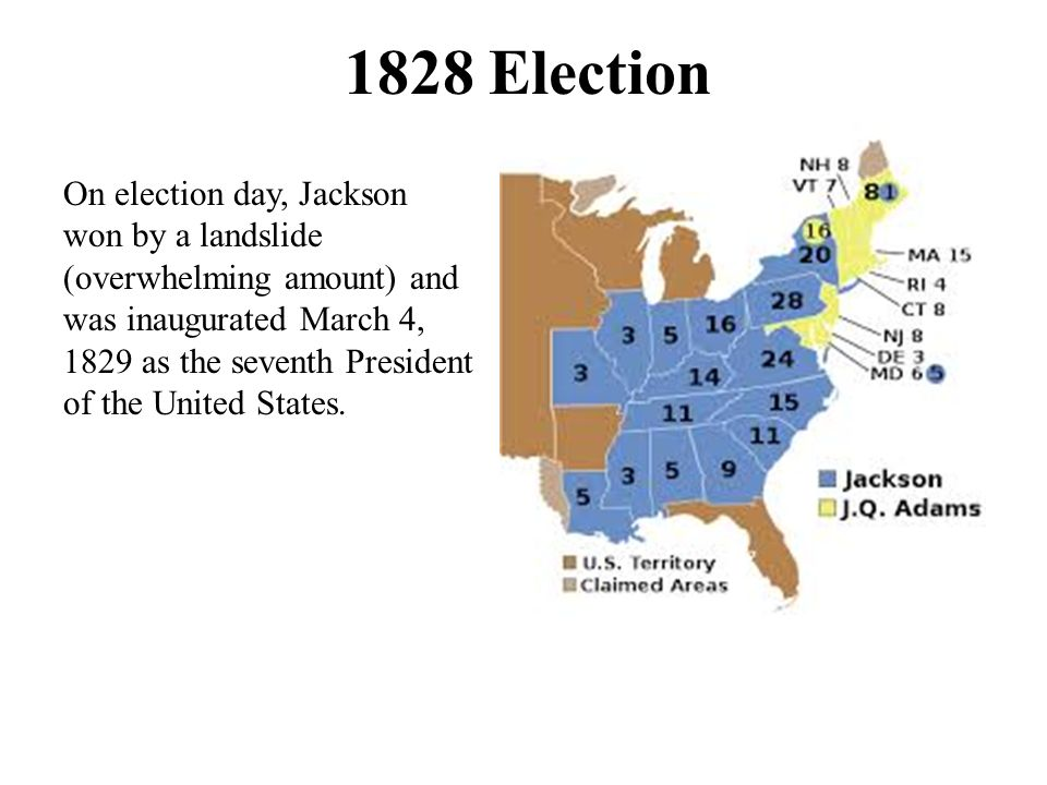 Mudslinging >> The Election of 1824 In the election of 1824 Andrew Jackson had the most popular and the most ...