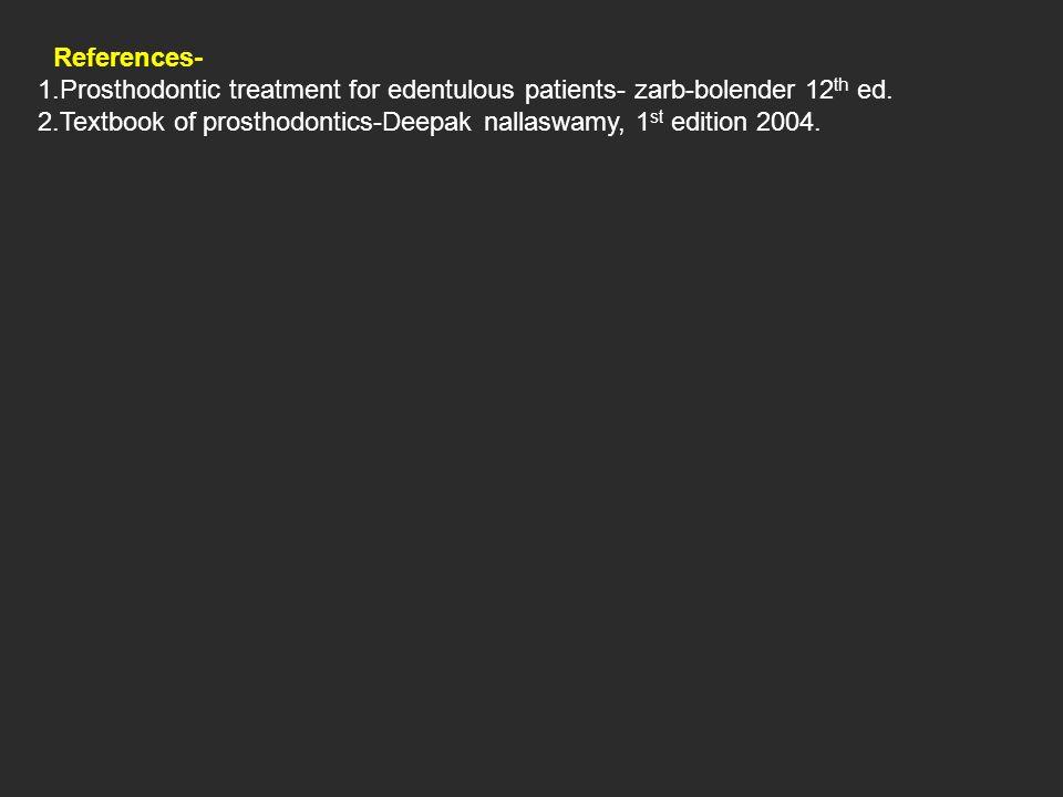 prosthodontic treatment for edentulous patients pdf