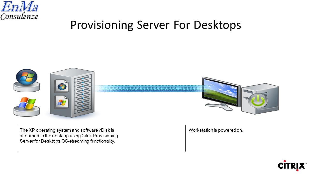 Provisioning Server For Desktops