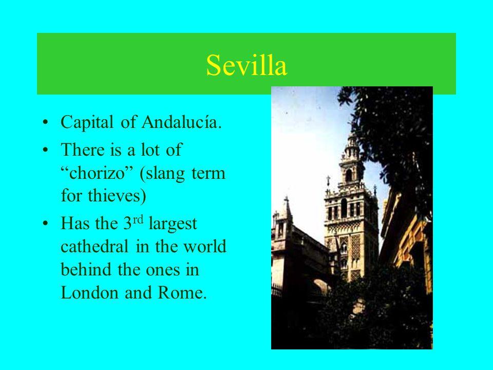 Sevilla Capital of Andalucía.