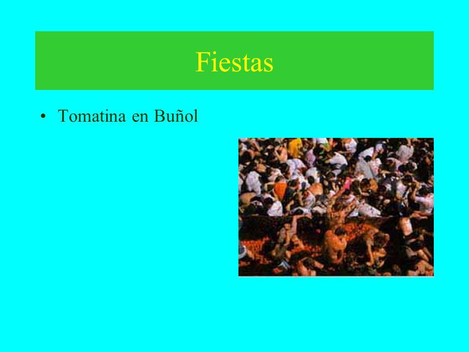 Fiestas Tomatina en Buñol