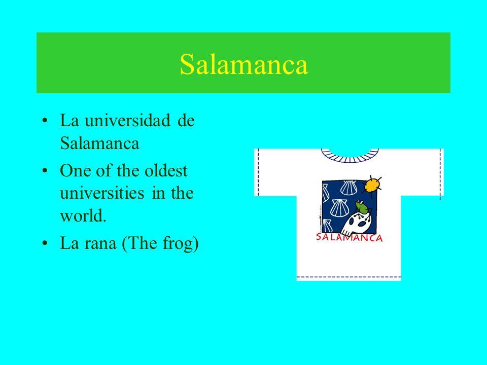 Salamanca La universidad de Salamanca