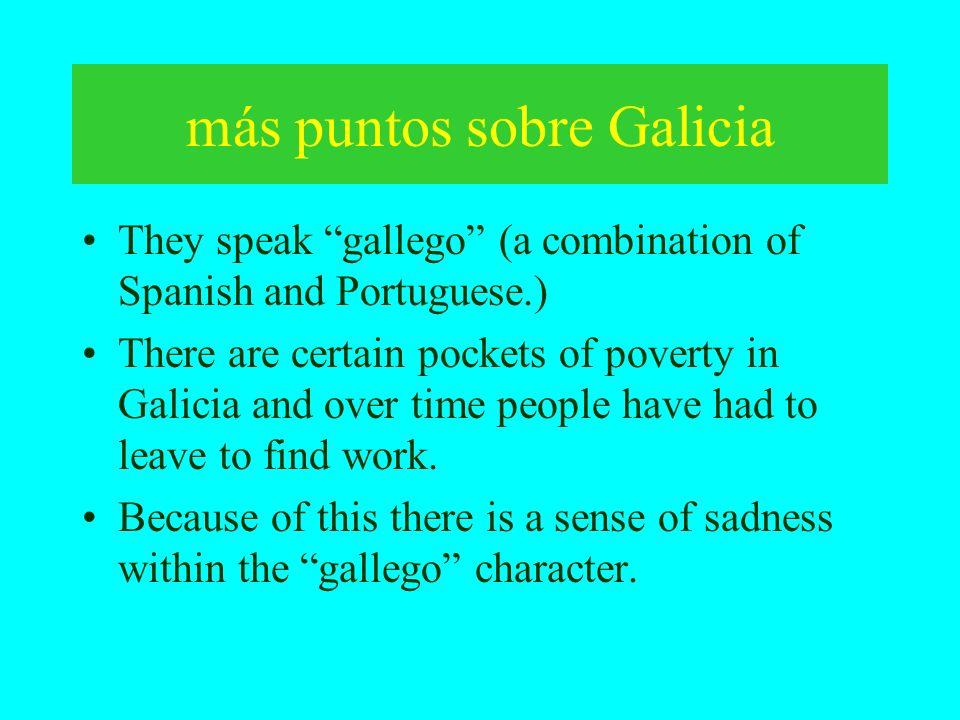 más puntos sobre Galicia
