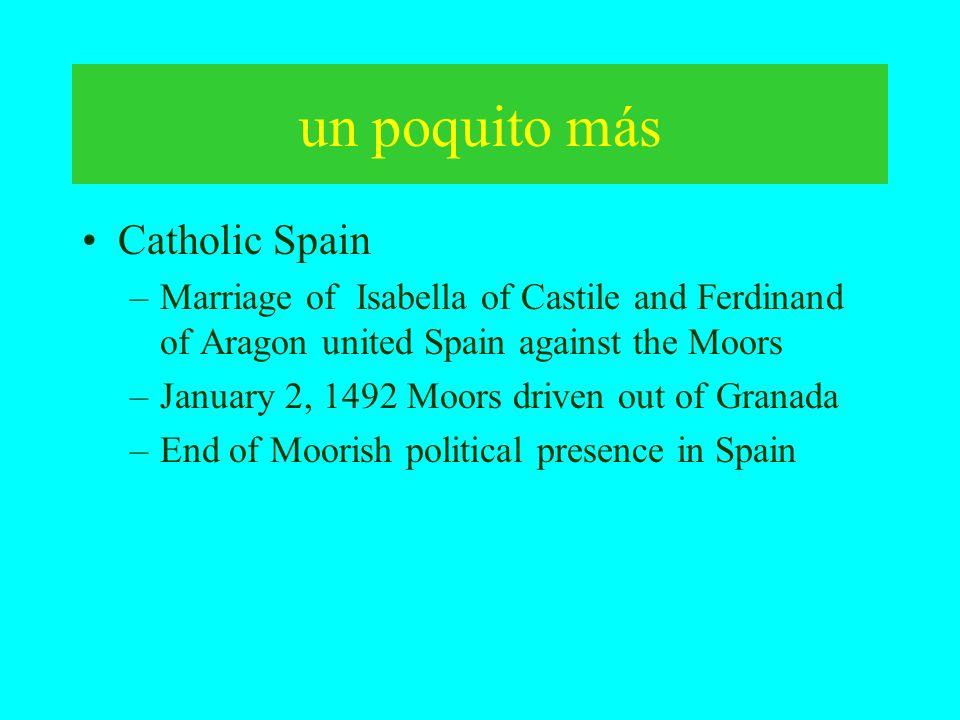 un poquito más Catholic Spain