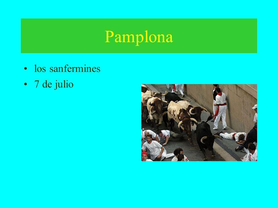 Pamplona los sanfermines 7 de julio
