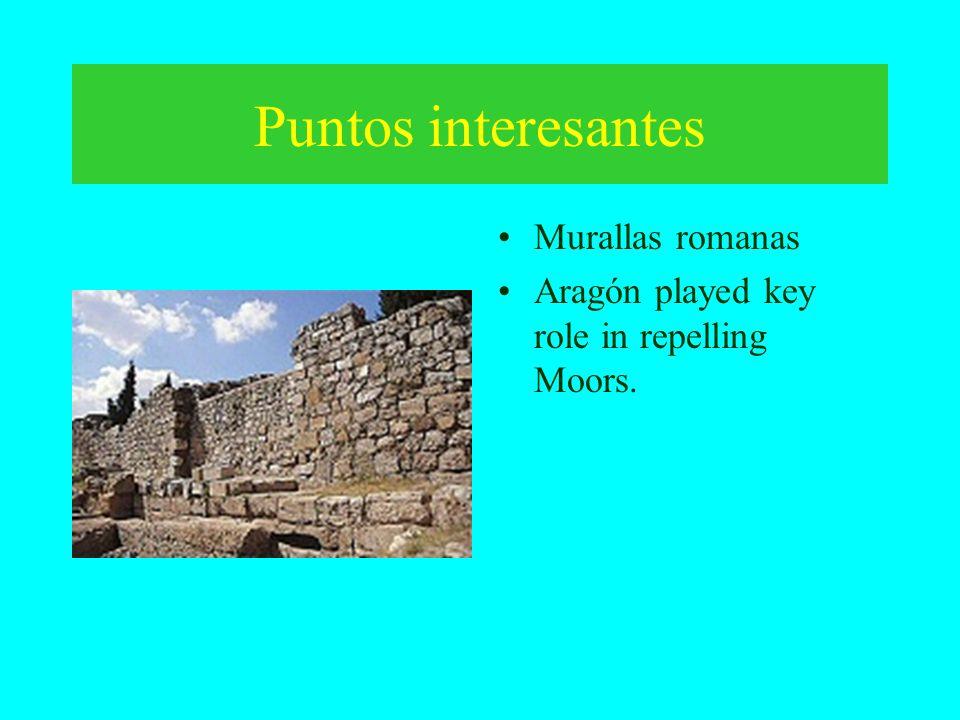 Puntos interesantes Murallas romanas