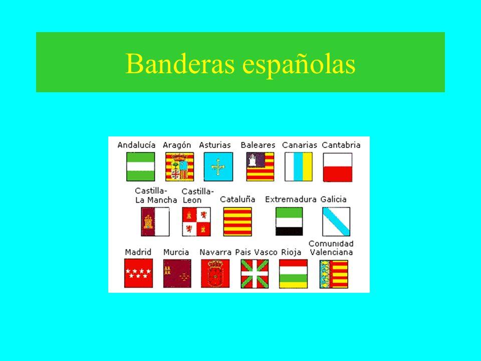 Banderas españolas