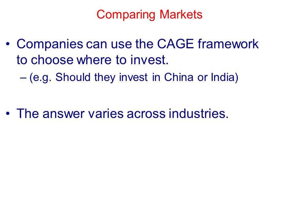 cage framework for starbucks india versus china The caselet discusses the rapid progress made by china and how the political environment facilitated its economic development.