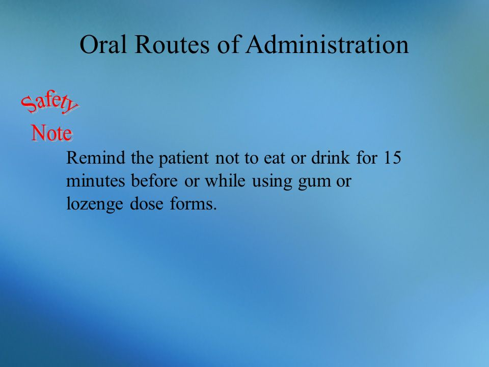 routes of drug administration pdf