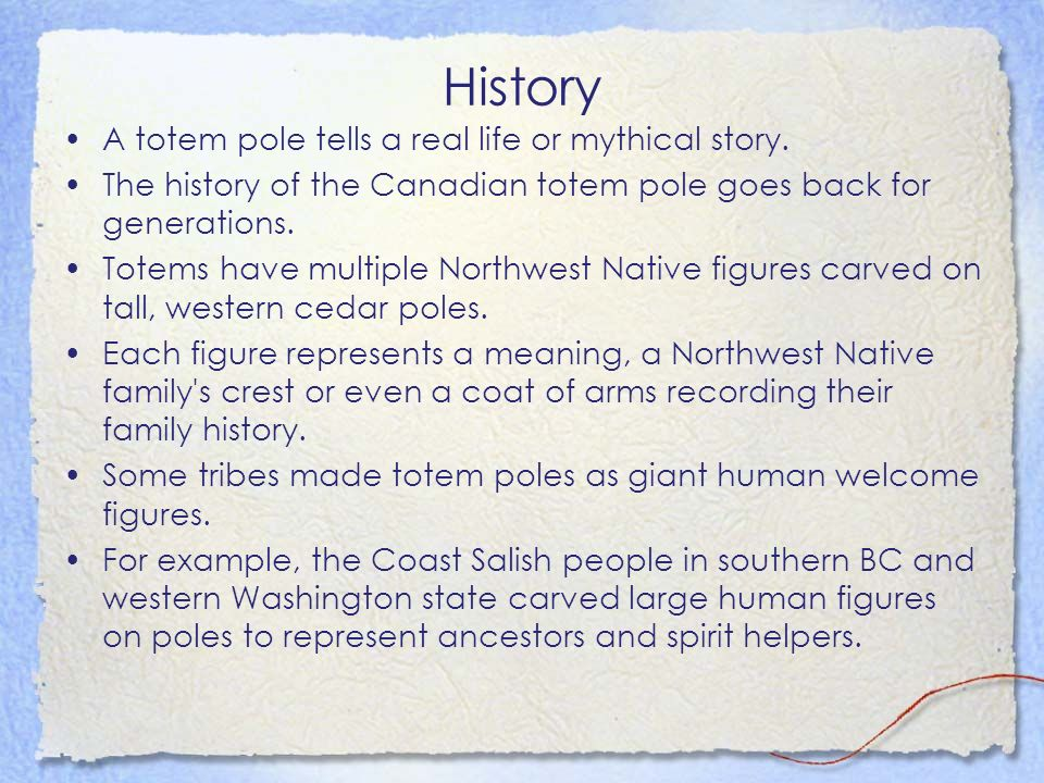 the history of totem poles Understand how native american totem poles was full of meaning.