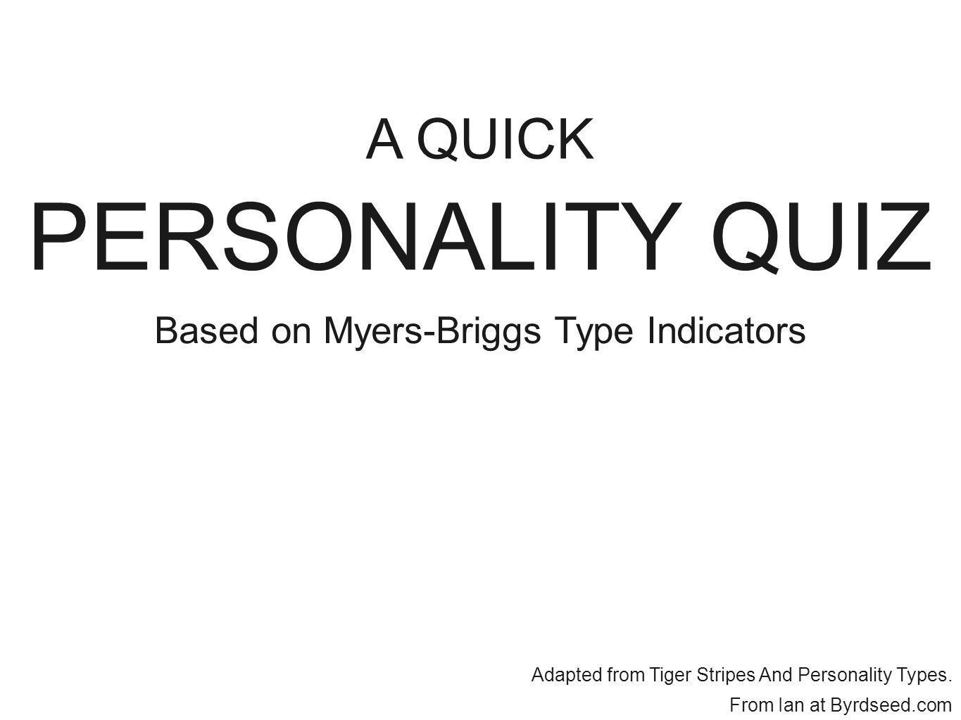 graphic regarding Myers Briggs Personality Test Printable known as Primarily based upon Myers-Briggs Model Signs