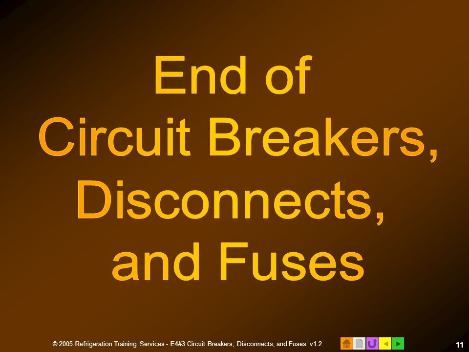 E4 HVACR Electrical Installation