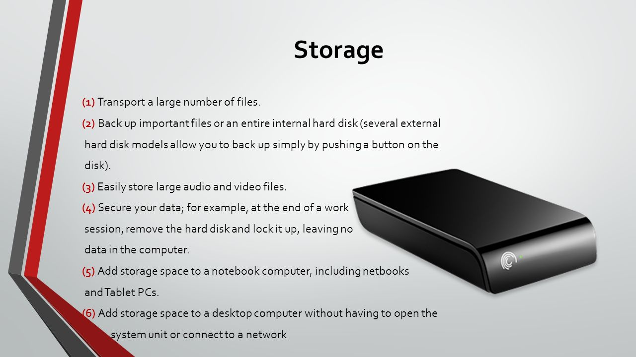 how to add hard drive on network without computer