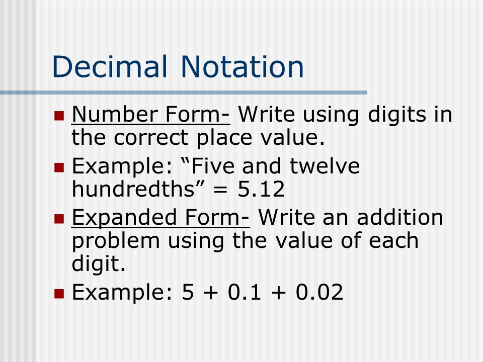 Expanded Form Definition Bruceianwilliams