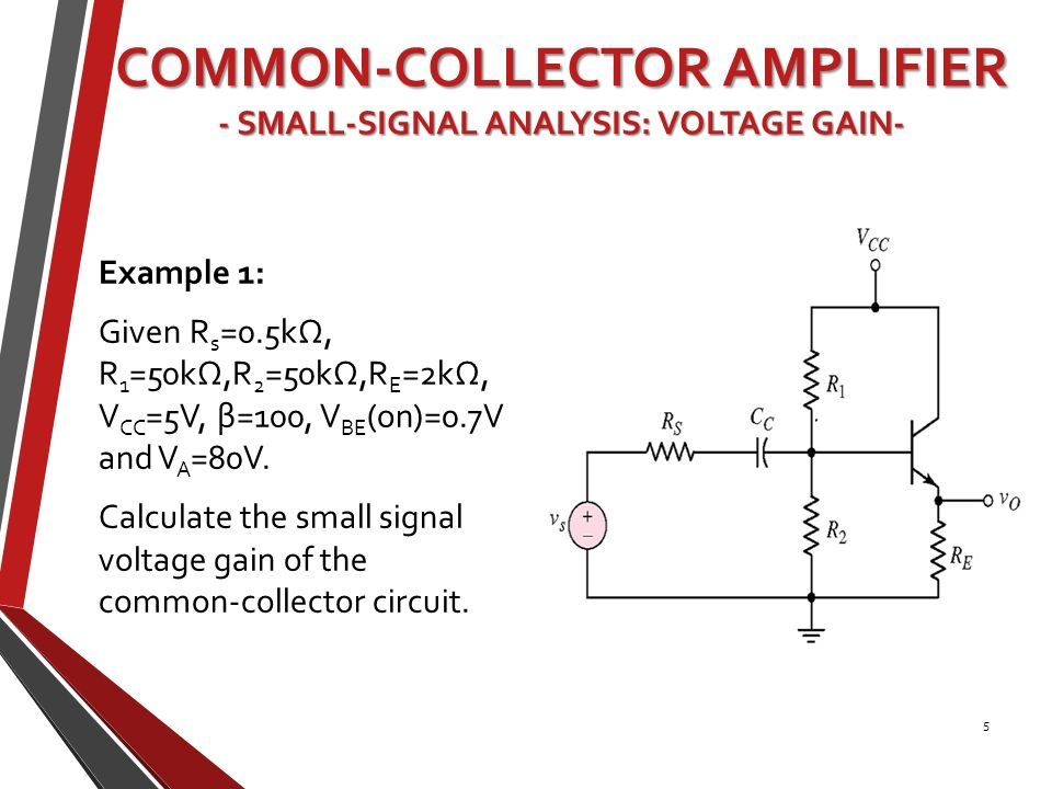 common source amplifier analysis pdf