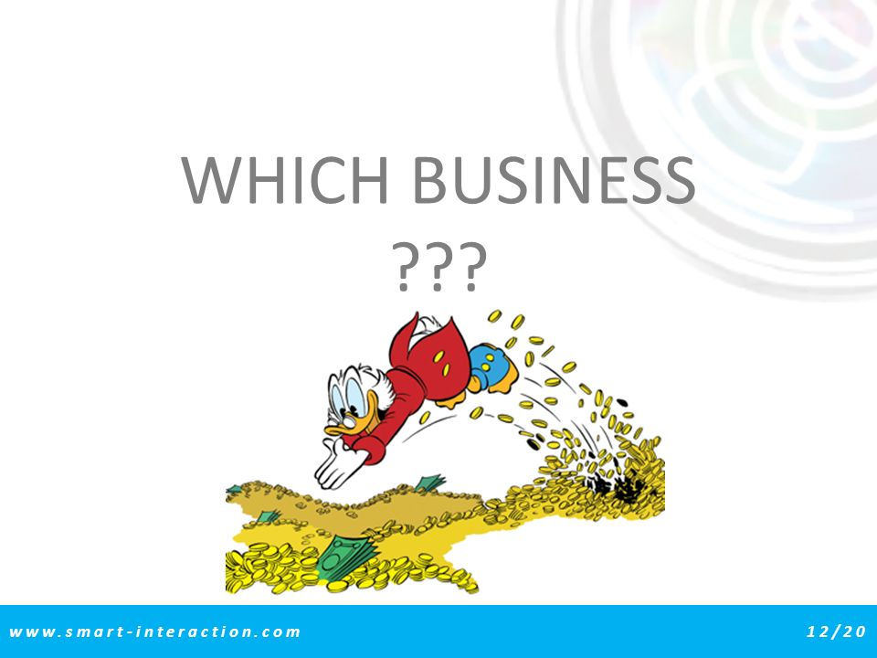 WHICH BUSINESS www.smart-interaction.com 12/20