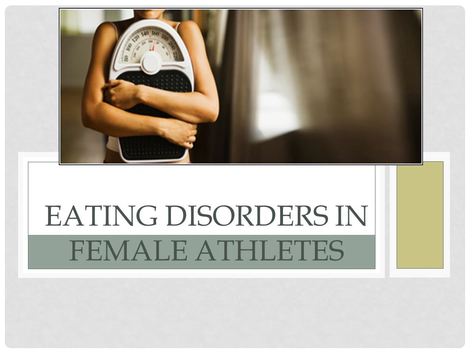 articles female players eating disorders