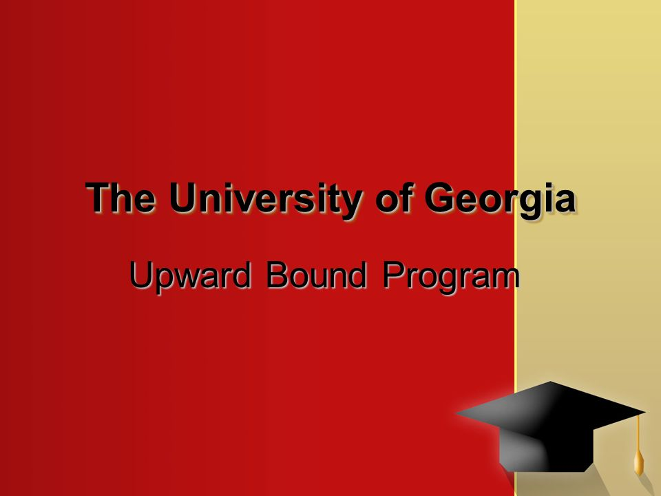 the upward bound program Upward bound is a college access and preparation program funded by the us department of education and sponsored by north dakota state university.