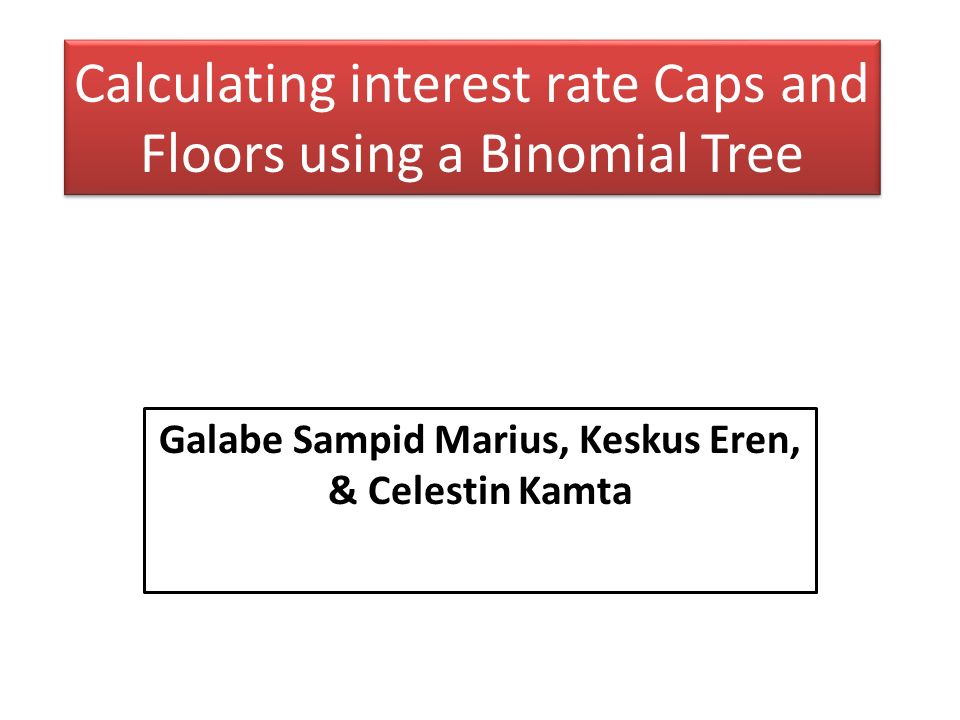 calculating interest rate