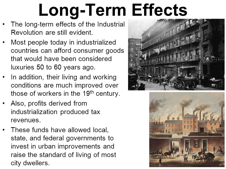 the aftermath of the industrial revolution essay The aftermath of the second world war essay sample pages: 12 as a result of industrial revolution the colonies had become suppliers of raw materials and.