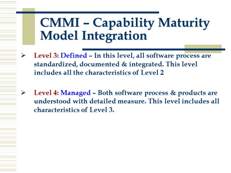 capability maturity model integration pdf