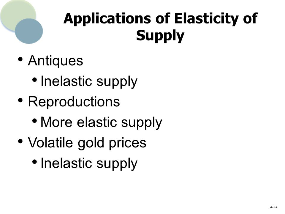 price elasticity of gold Both gold prices and oil prices have had a good start to the year,  in the short  term, us shale supply elasticity is the key variable and could.