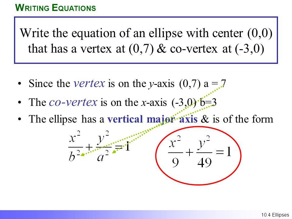 bear how to write equation