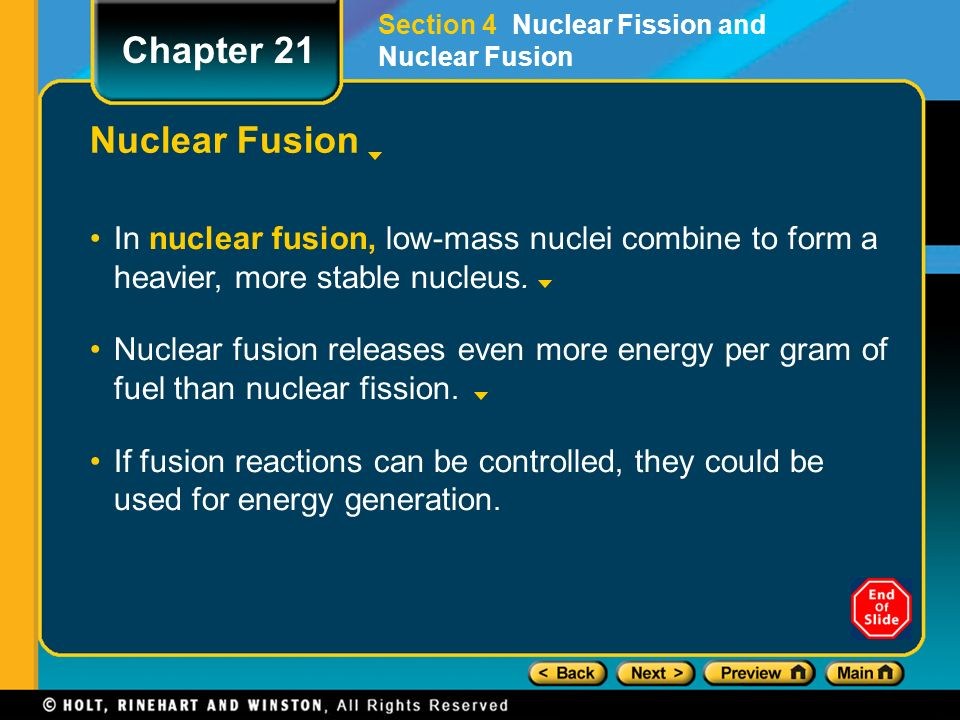 Nuclear Fission And Nuclear Fusion - ppt video online download