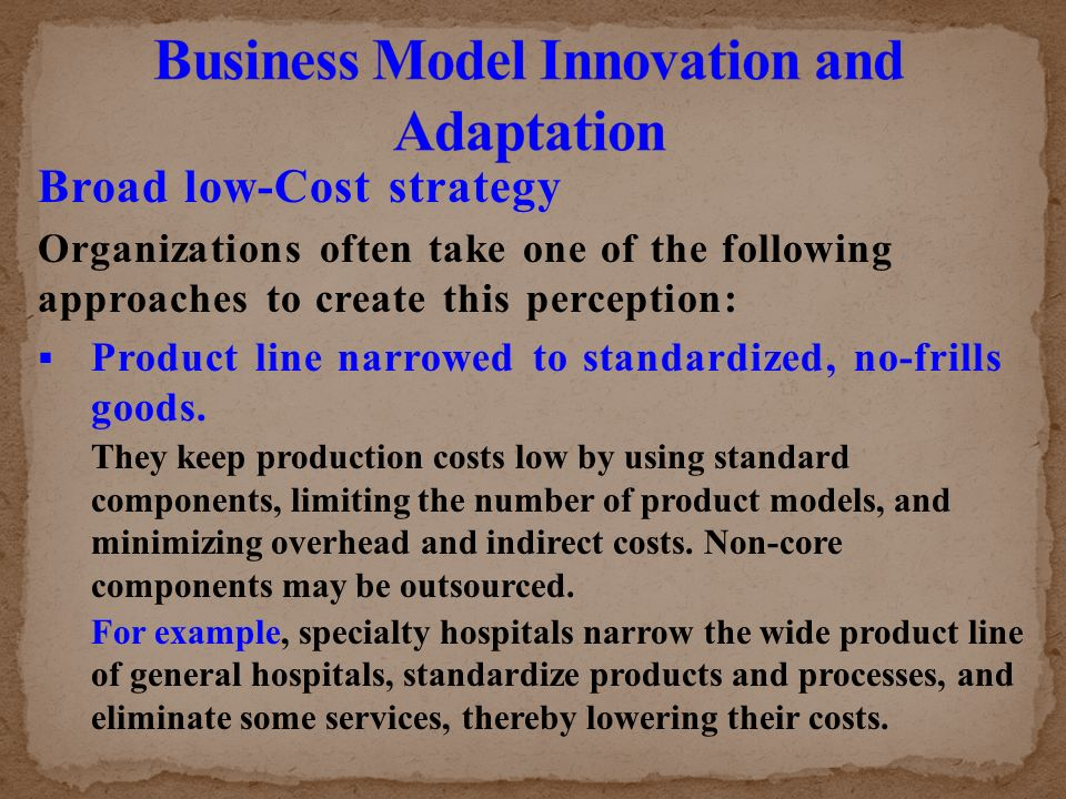 standard model and overhead costs Learn about direct and indirect costs, the two cost components of production, and how they help you appropriately price your products.